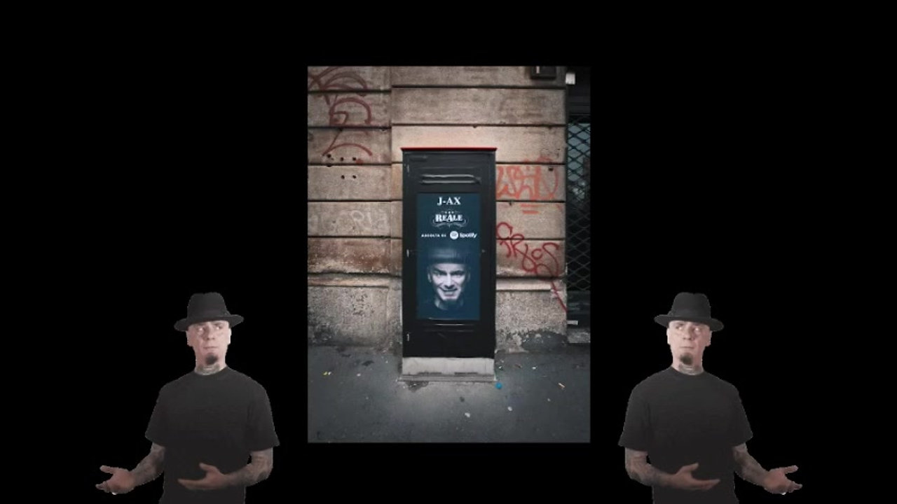 Sony Music & Spotify - J-Ax Streetbox activation
