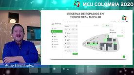 Plataforma para reserva de espacios de trabajo