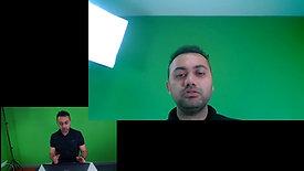 Iluminación para videoconferencias desde casa