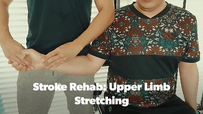 Stroke Rehab Visit - Upper Limb Weight Bearing