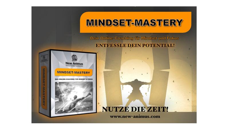 Mindset Mastery Ankündigung