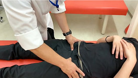 初診時の下肢触擦と評価