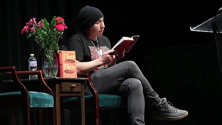 Tommy Orange at Hammer Theatre