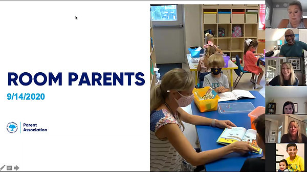 Room Parent Orientation