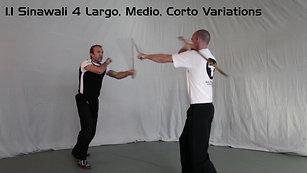 1_1 Sinawali 4 Largo, Medio, Corto Variations - HD 1080p Video Sharing