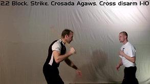 2_2 Block_ Strike_ Crosada Agaws_ Cross disarm 1-10 (fcp1) - HD 1080p Video Sharing