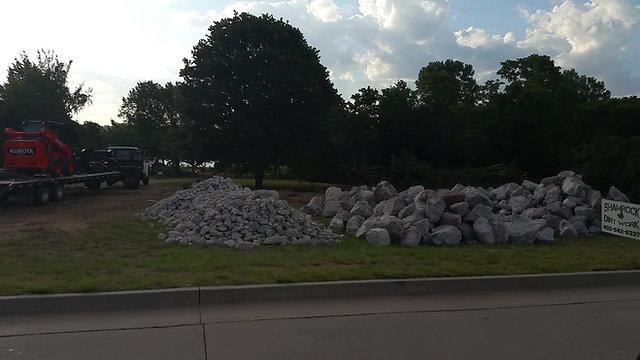 HOA Park Excavation