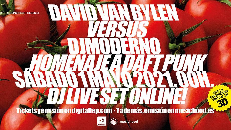 DJ MODERNO & DAVID VAN BYLEN