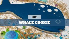 DIY Treat Kit Whale Cookie