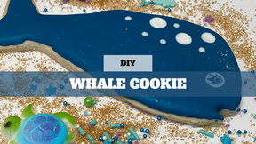 DIY Treat Kit Whale Cookie