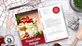 Free Video: Pound Cake Dessert