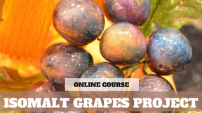 Paid Video Preview: How to create Isomalt Grapes
