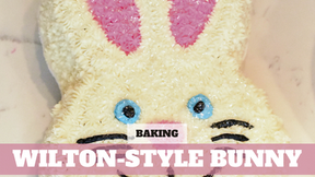 Free Video: Molded Easter Bunny Cake