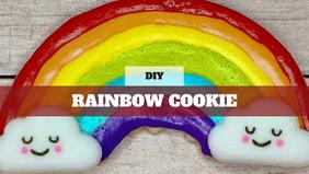 DIY Treat Kit Rainbow Cookie