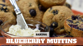 FREE COURSE: Blueberry Muffins