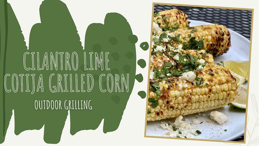 Cilantro Lime Cotija Corn Recipe