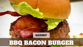 Free Video: BBQ Bacon Burgers