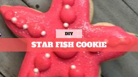 DIY Treat Kit Starfish Cookie