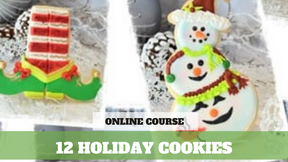 Paid Video Preview: 12 Holiday Cookie Designs