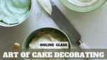 Paid Video Preview: Art of Cake Decorating