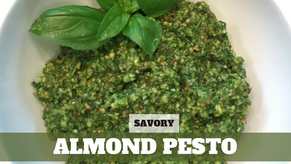 Free Video: Almond Pesto