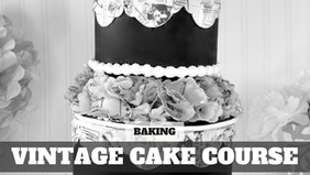 Paid Video Preview: Vintage Cake with Wafer Paper