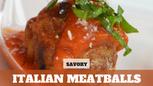 Free Video: Italian Meatballs