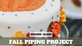 Paid Video Preview: Fall Piping Project