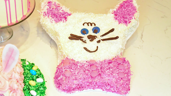 Free Video: Cut Out Bunny Cake