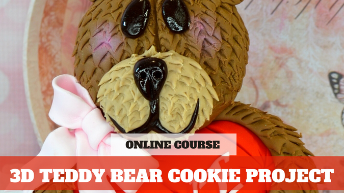 Paid Video Preview: 3D Bear Cookies