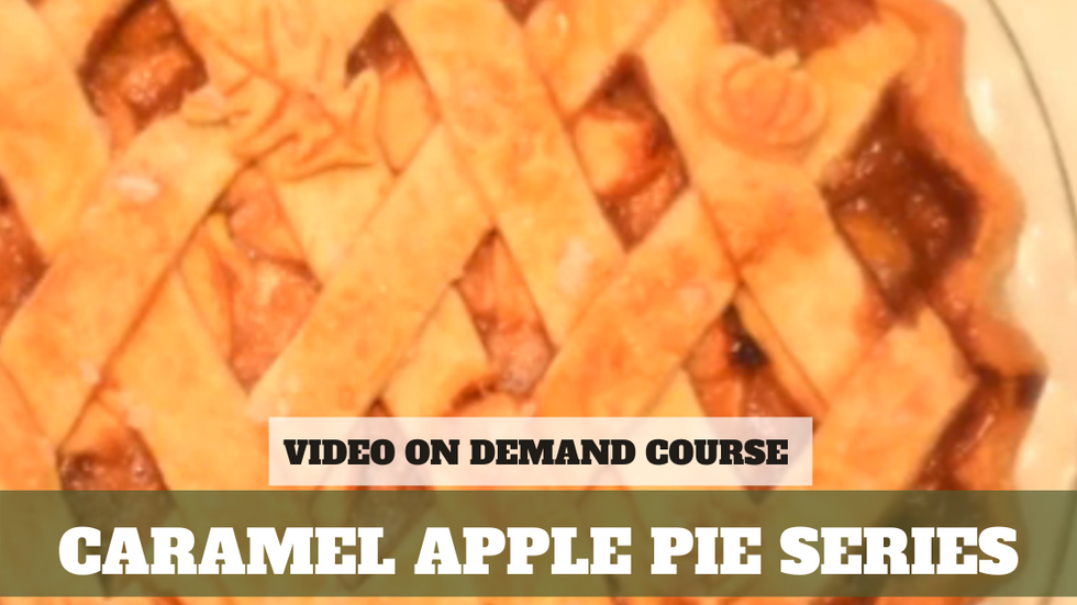 VOD: Salted Caramel Apple Pie