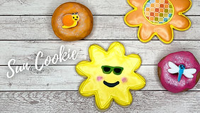 Royal Icing Cookies: Sun Cookie