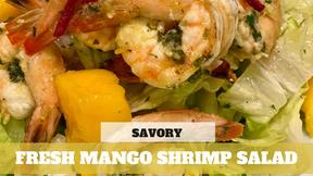 Free Video: Fresh Mango Shrimp Salad