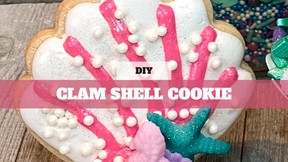 DIY Treat Kit Clam Shell Cookie