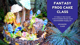 Class Preview: Fantasy Frog Cake
