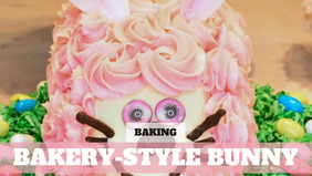 Free Video: Easy Easter Bunny Cake