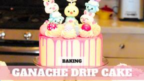Free Video: Easy Easter Water Ganache Drip Cake