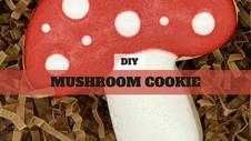DIY Treat Kit Mushroom Cookie