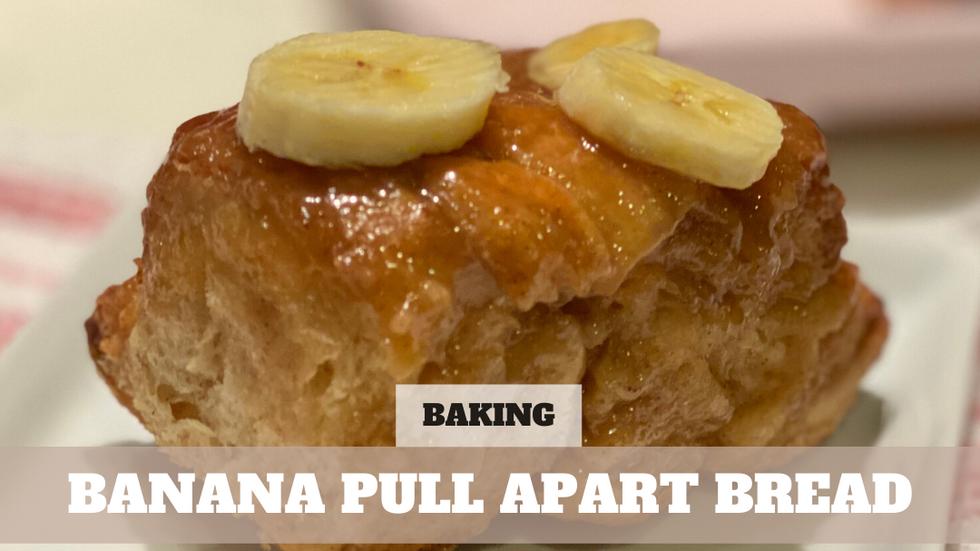 Free Video: Banana Pull Apart Bread