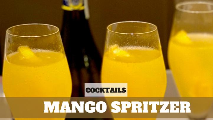 Free Video: Mango Spritzer Cocktail