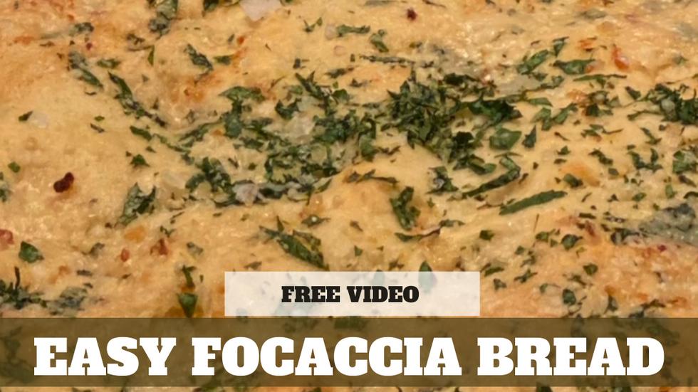 Free Video: Easy Foccacia