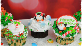 Course: How to decorate Holiday Cupcakes