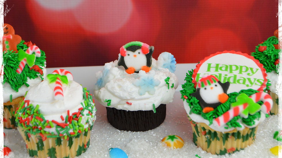 Free Video: Holiday Cupcakes
