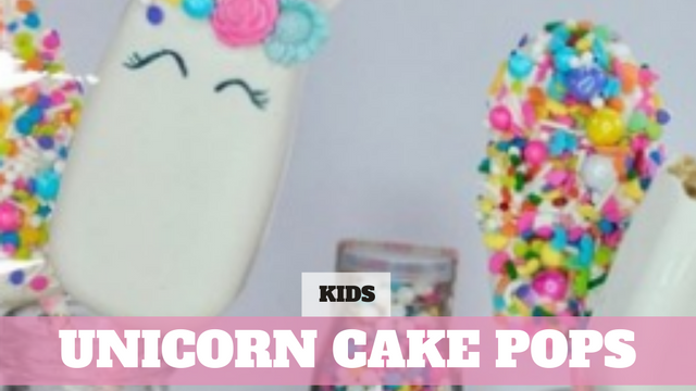 Paid Video Preview: Unicorn Cake Pops