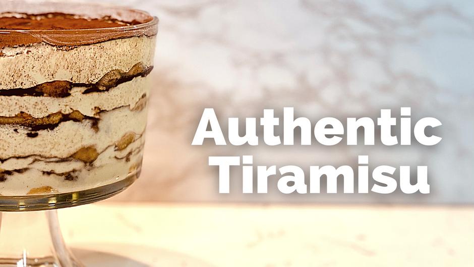 Class: Authentic Tiramisu