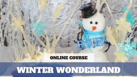 Paid Video Preview: Blown Sugar Snowman & Winter Wonderland