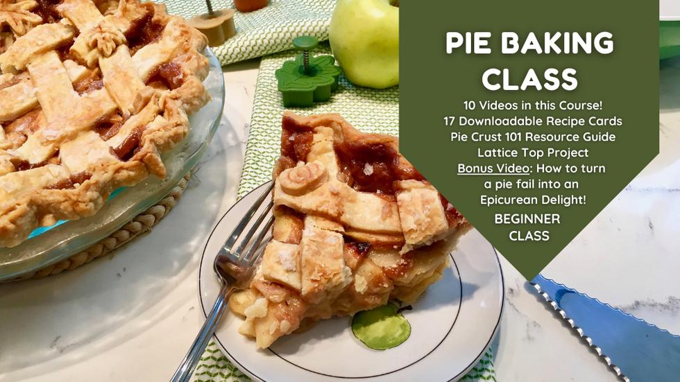 Class Preview: Salted Caramel Apple Pie Baking