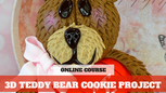 Paid Video Preview: 3D Teddy Bear Cookies