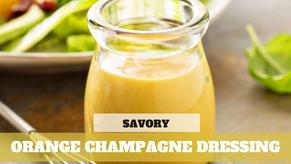 Orange Champagne Dressing
