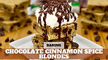 Free Video: Low Sugar Chocolate Cinnamon Blonde Sundae
